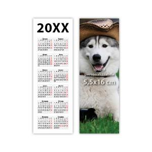 Calendario segnalibro 2017