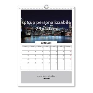 Calendario da muro 13 fogli 2017