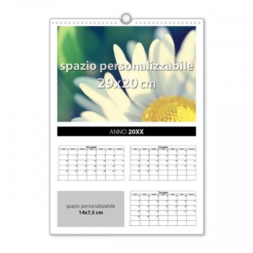 Calendario da muro 5 fogli 2019 - Calendario da tavolo con foto proprie ...