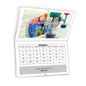 Calendario da muro pieghevole 2017
