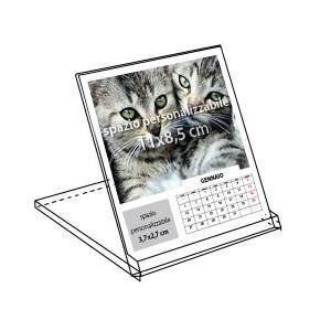 Calendar Box da tavolo 13 fogli 2017