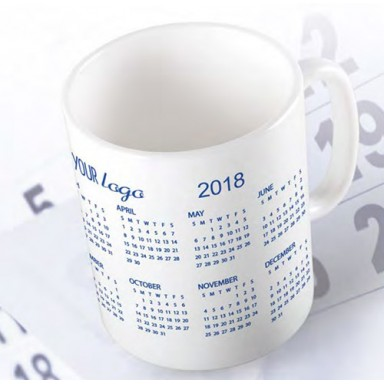 Tazza calendario 2019